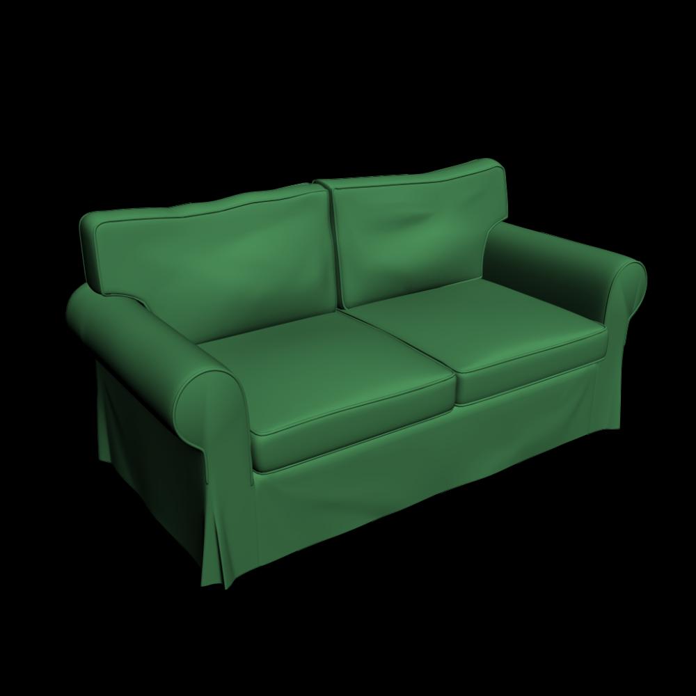 Ektorp 2er Sofa Einrichten Planen In 3d