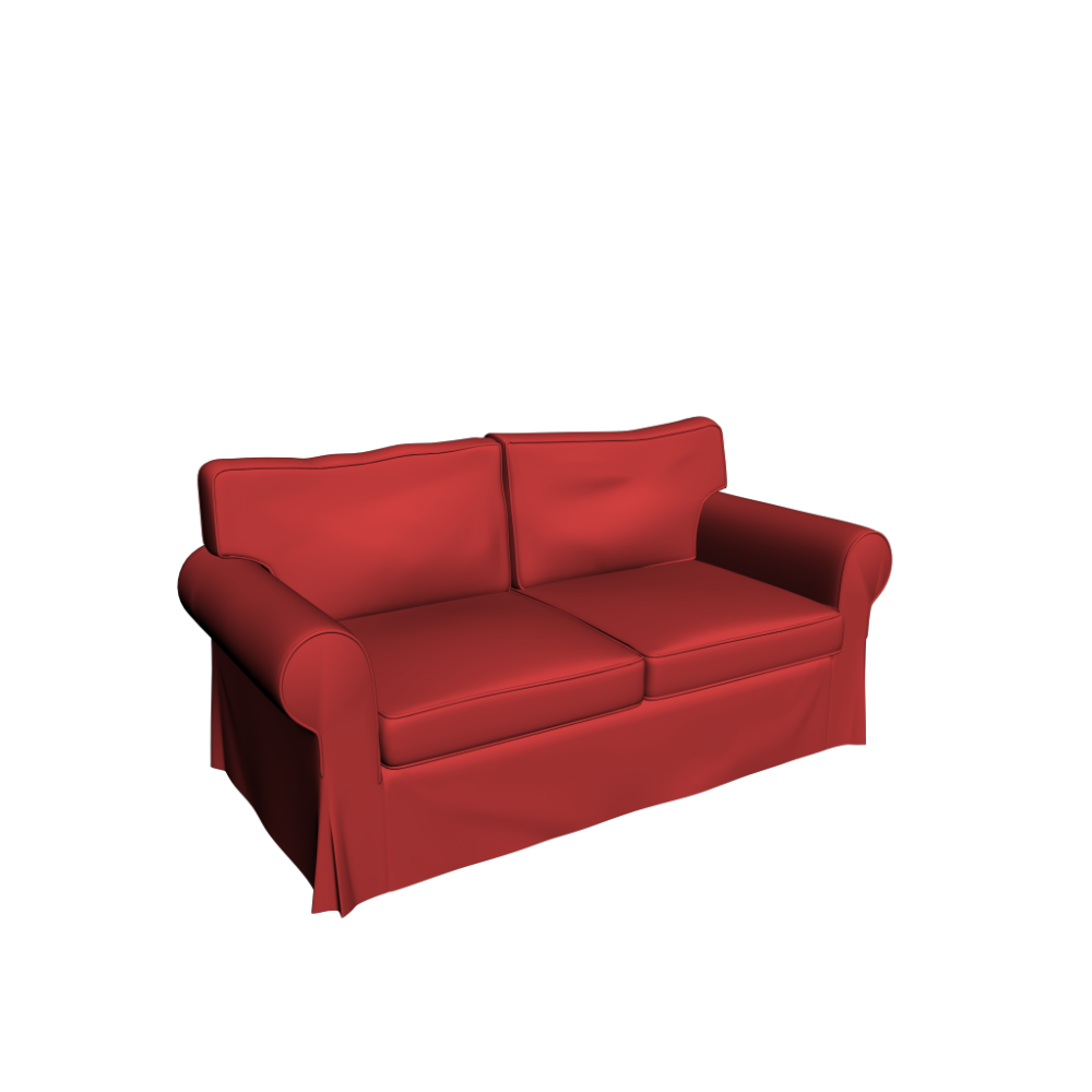 ektorp 2er sofa einrichten planen in 3d. Black Bedroom Furniture Sets. Home Design Ideas