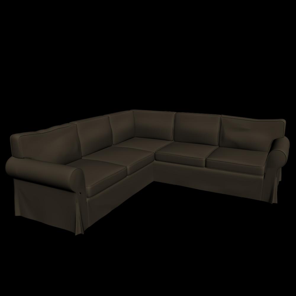 ektorp ecksofa 2 2 einrichten planen in 3d. Black Bedroom Furniture Sets. Home Design Ideas