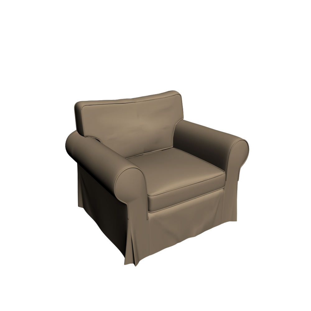 Xxl sessel ikea  EKTORP Armchair - Design and Decorate Your Room in 3D