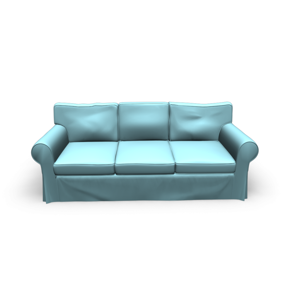 EKTORP Sofa - Design and Decorate Your Room in 3D