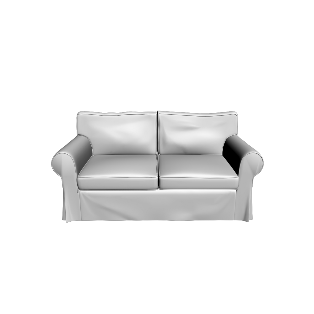 EKTORP Loveseat - Design and Decorate Your Room in 3D