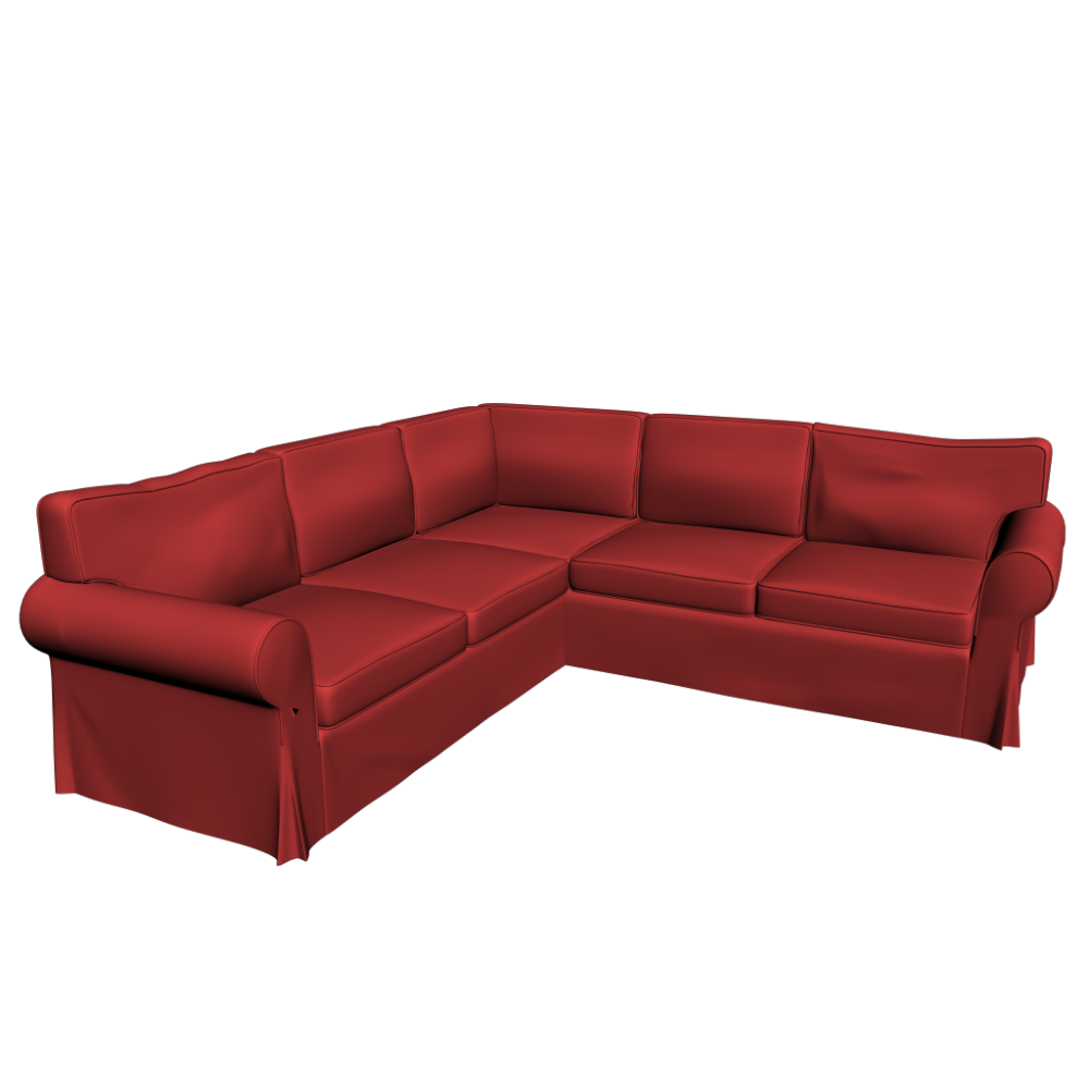 ektorp corner sofa 2 2 design and decorate your room in 3d. Black Bedroom Furniture Sets. Home Design Ideas