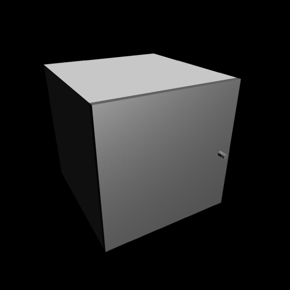expedit einsatz mit t r hochglanz grau einrichten planen in 3d. Black Bedroom Furniture Sets. Home Design Ideas