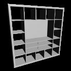 EXPEDIT TV-Möbel, weiß von IKEA