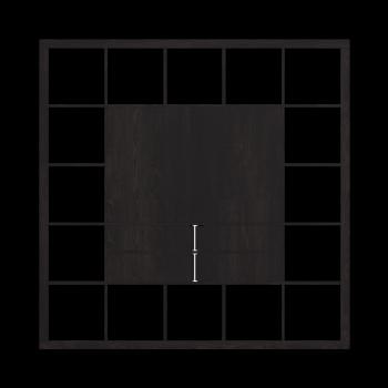 EXPEDIT TV-Möbel, schwarzbraun von IKEA