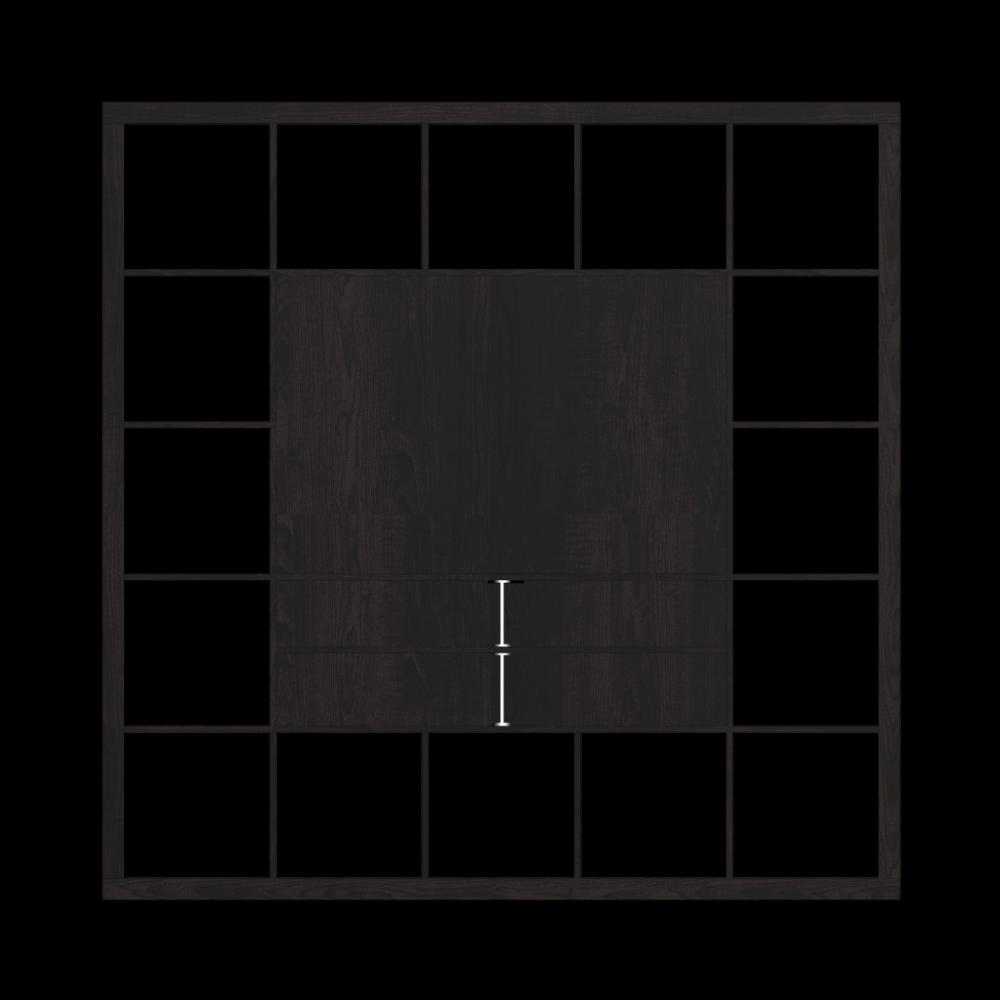 expedit tv m bel schwarzbraun einrichten planen in 3d. Black Bedroom Furniture Sets. Home Design Ideas