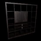 EXPEDIT TV-Möbel, schwarzbraun für die 3D Raumplanung