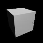 EXPEDIT Einsatz mit Tür, weiß für die 3D Raumplanung