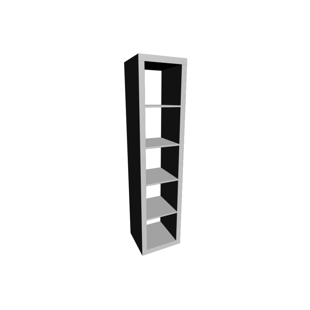 Ikea regal expedit weiß  EXPEDIT Regal, weiß - Einrichten & Planen in 3D