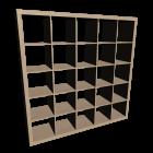 EXPEDIT Regal, Birkenachbildung für die 3D Raumplanung