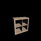EXPEDIT Regal, Birkenachbildung von IKEA
