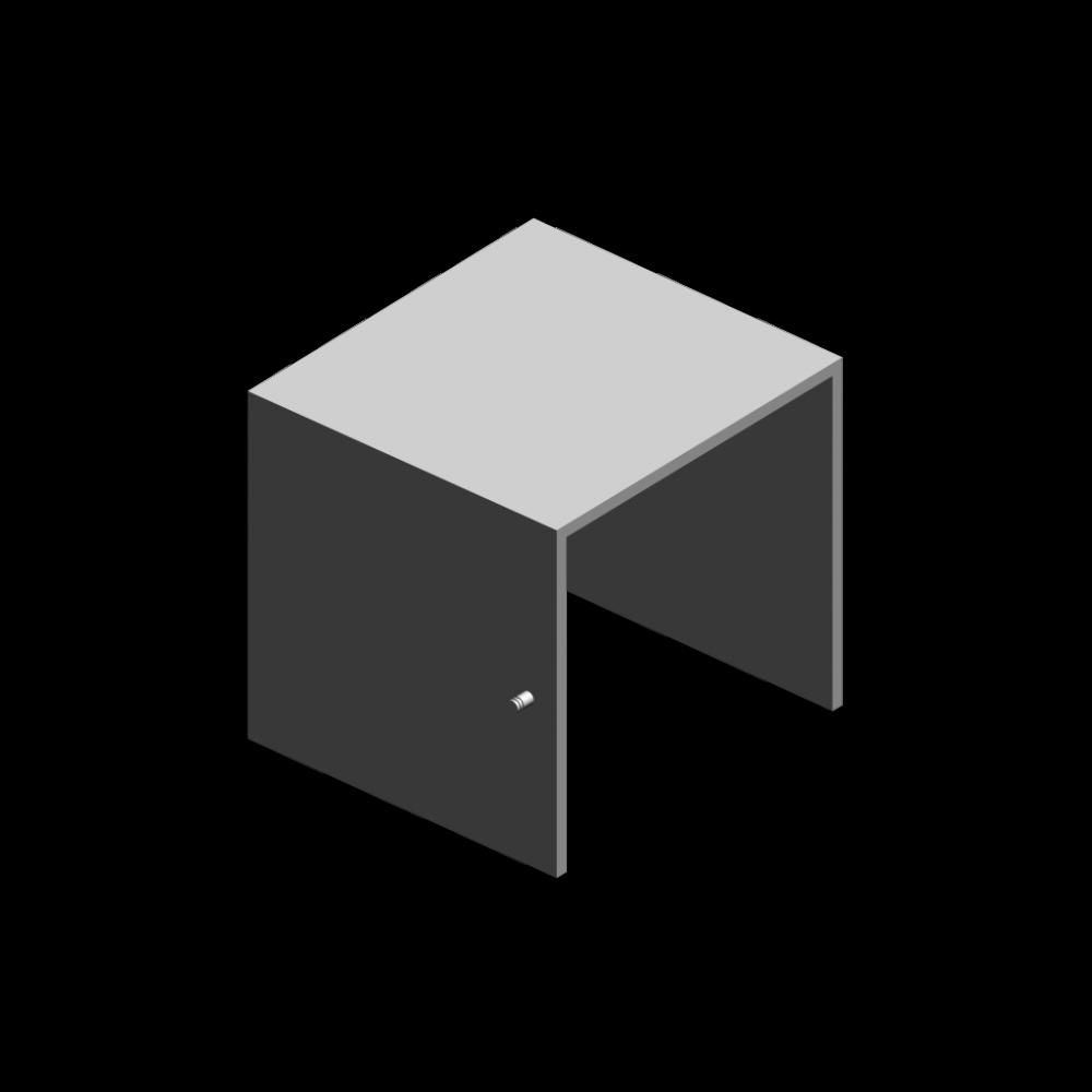 expedit einsatz mit t r wei einrichten planen in 3d. Black Bedroom Furniture Sets. Home Design Ideas