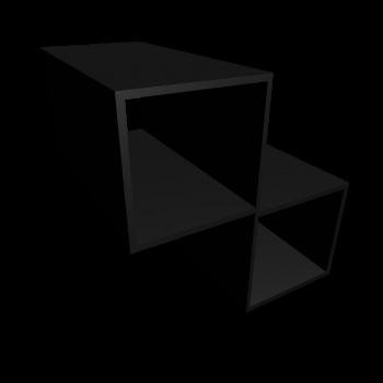 EXPEDIT Regaleinsatz, schwarz von IKEA