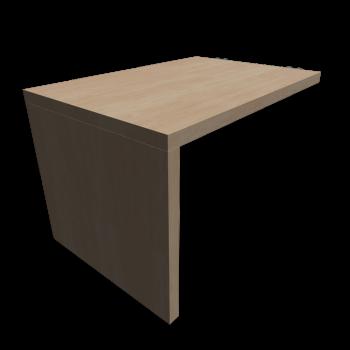 expedit schreibtisch einrichten planen in 3d. Black Bedroom Furniture Sets. Home Design Ideas
