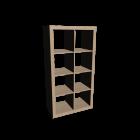 EXPEDIT Shelving unit for your 3d room design