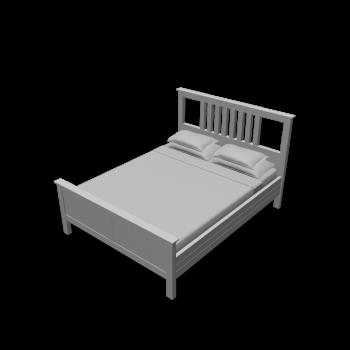 hemnes bed frame design and decorate your room in 3d. Black Bedroom Furniture Sets. Home Design Ideas