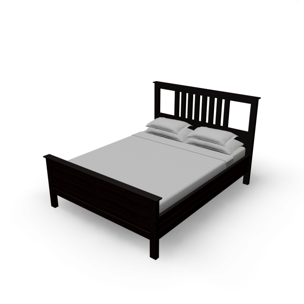 Hemnes Bed Frame Design And Decorate Your Room In 3d