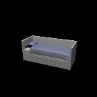 HEMNES Tagesbettgestell von IKEA