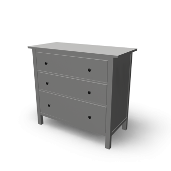 Hemnes 3 drawer chest design and decorate your room in 3d - Hemnes wandregal ...