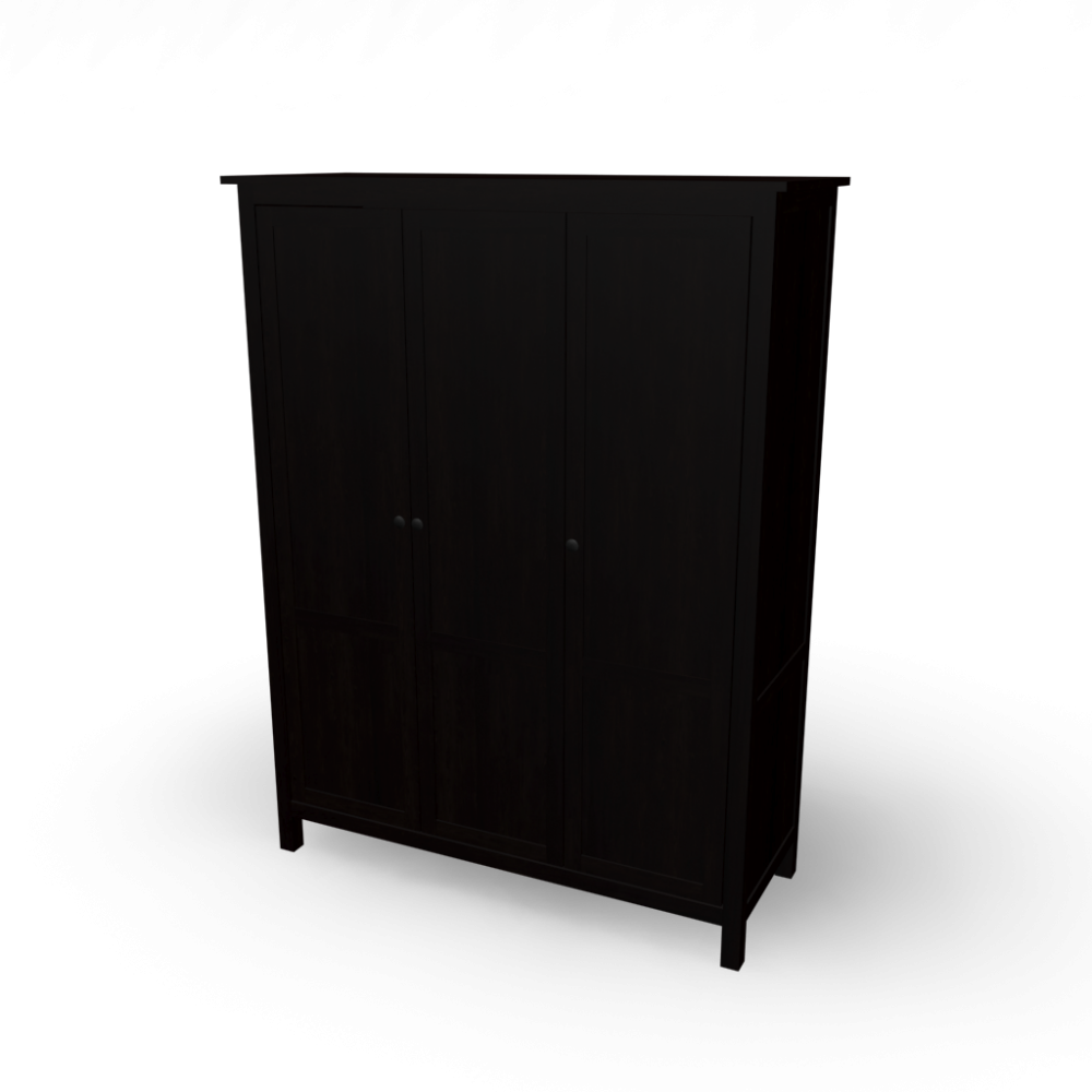 Hemnes wardrobe with 3 doors design and decorate your for Ikea hemnes wohnzimmerserie