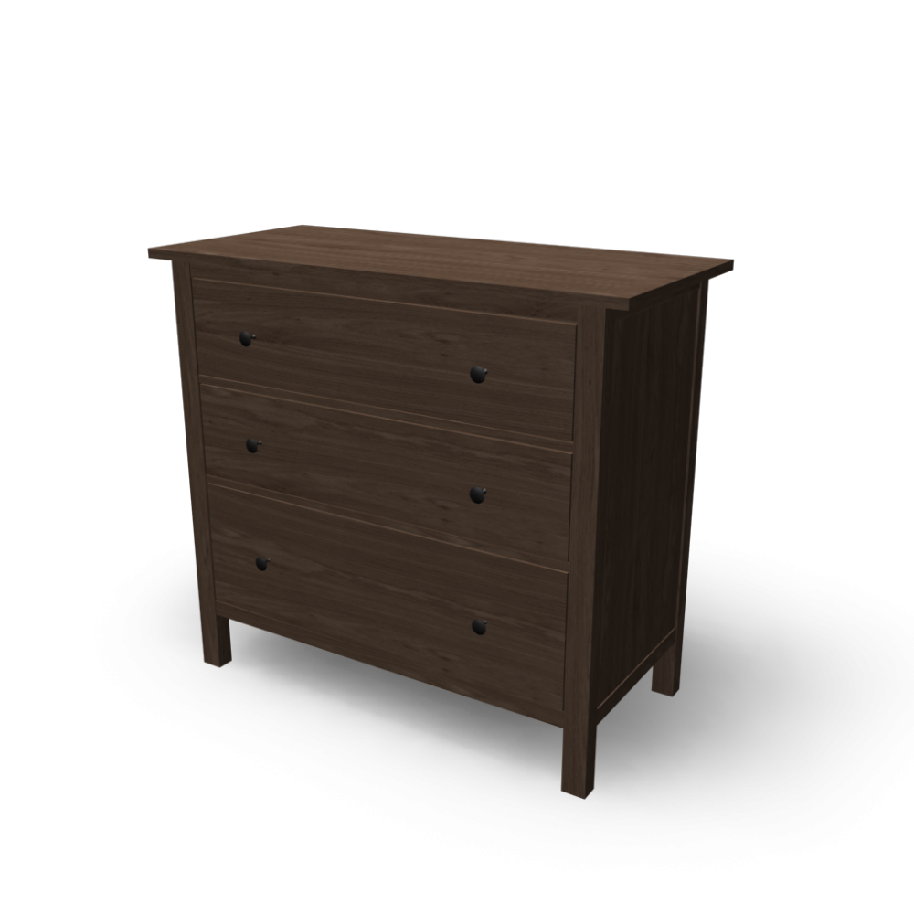 hemnes 3 drawer chest - design and decorate your room in 3d, Hause deko