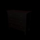 HEMNES Kommode mit 3 Schubladen von IKEA