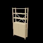 IVAR 1 Elem/Böden/Schrank für die 3D Raumplanung