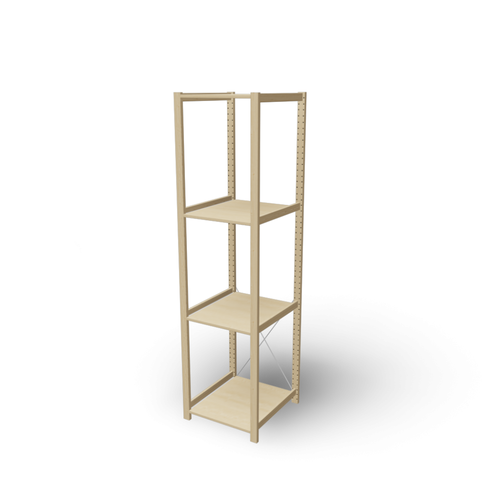 ivar 1 section with shelves design and decorate your room in 3d. Black Bedroom Furniture Sets. Home Design Ideas