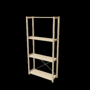 ivar 1 section with shelves design and decorate your room in 3d. Black Bedroom Furniture Sets. Home Design Ideas