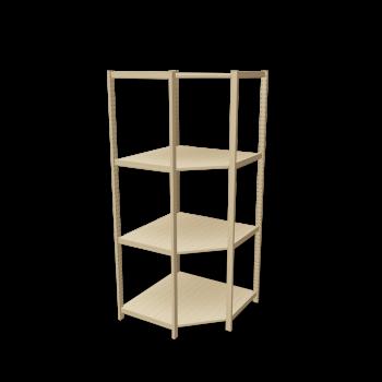 ivar corner shelf 500 design and decorate your room in 3d. Black Bedroom Furniture Sets. Home Design Ideas