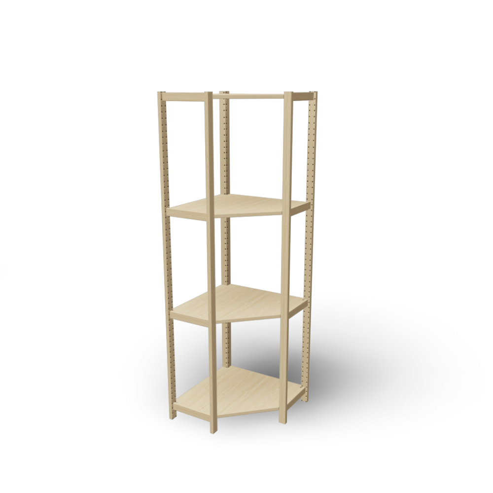 Ivar Corner Shelf 300 Design And Decorate Your Room In 3d