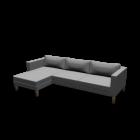 KARLSTAD 3er-Sofa und Récamiere für die 3D Raumplanung