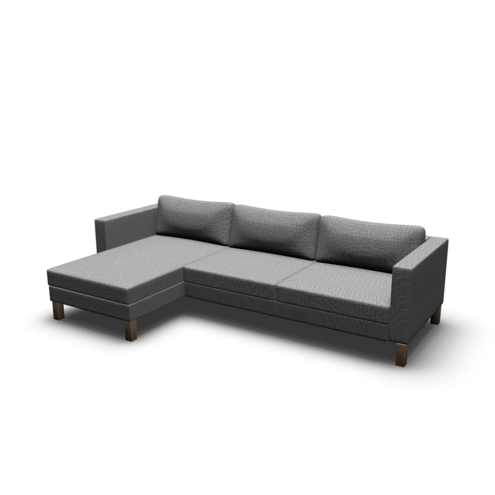 karlstad 3er sofa und r camiere einrichten planen in 3d. Black Bedroom Furniture Sets. Home Design Ideas