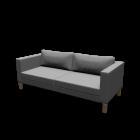 KARLSTAD 3er-Sofa für die 3D Raumplanung