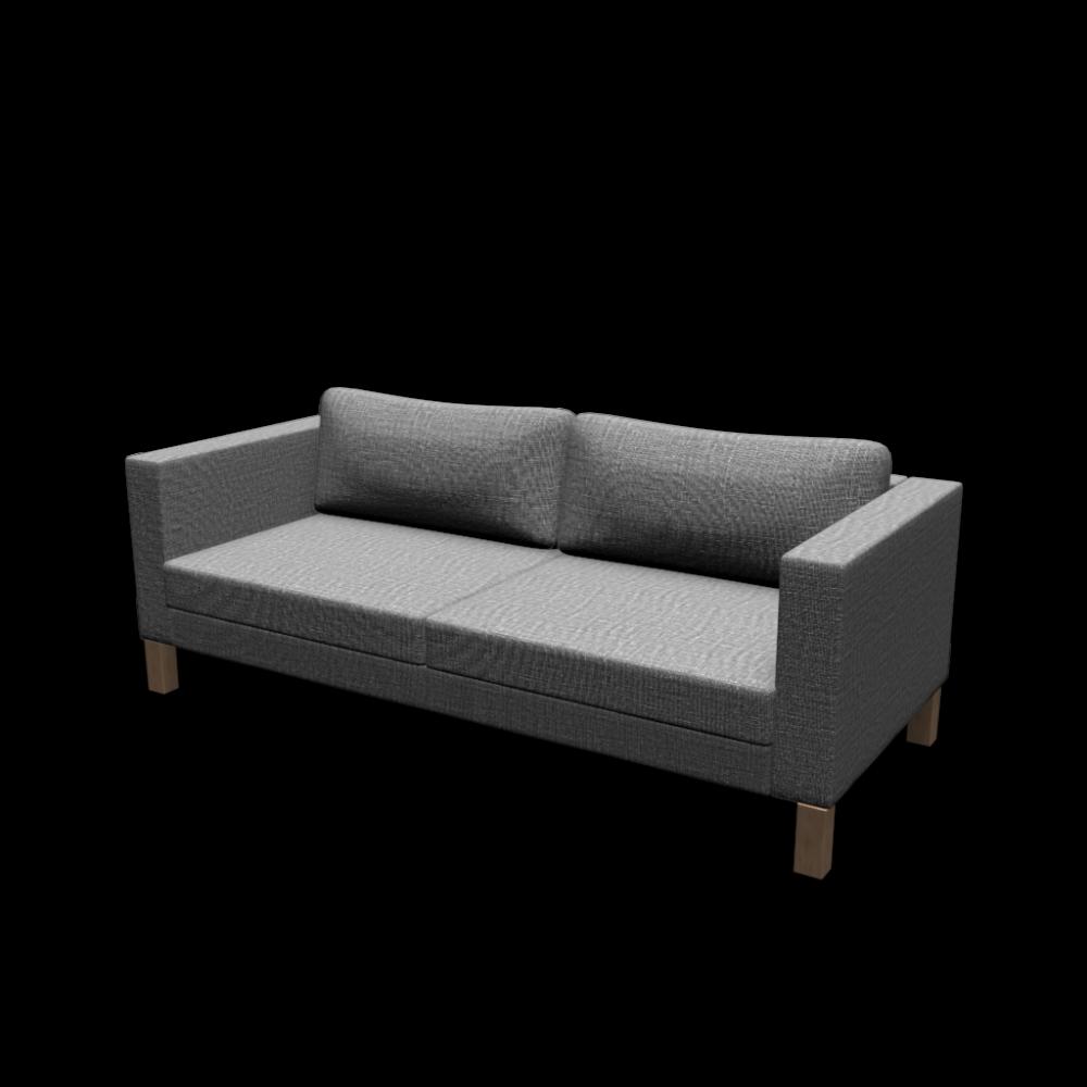 KARLSTAD 3er Sofa Einrichten & Planen in 3D