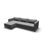 KARLSTAD Two-seat sofa and chaise longue by IKEA