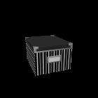 KASSETT DVD-Fach mit Deckel für die 3D Raumplanung