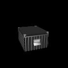 KASSETT Box mit Deckel für die 3D Raumplanung