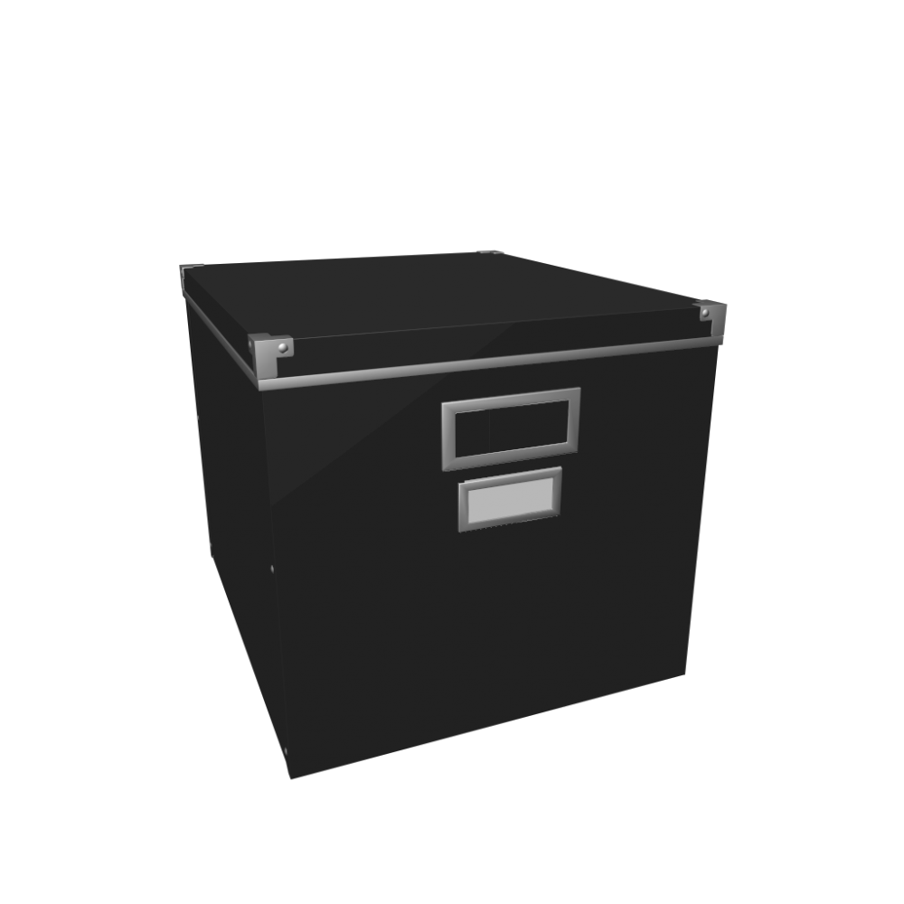 KASSETT Box with lid - Design and Decorate Your Room in 3D