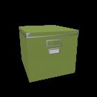 KASSETT Box with lid by IKEA