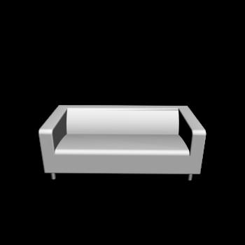 KLIPPAN 2er-Sofa, Granån weiß von IKEA