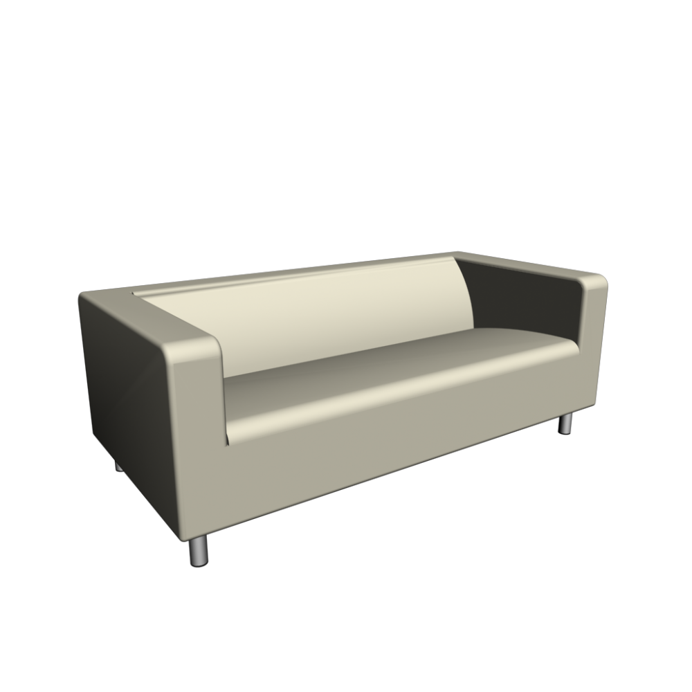 Klippan loveseat alme natural design and decorate your room in 3d - Klippan sofa ikea ...
