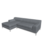 KRAMFORS L-Form Sofa für die 3D Raumplanung