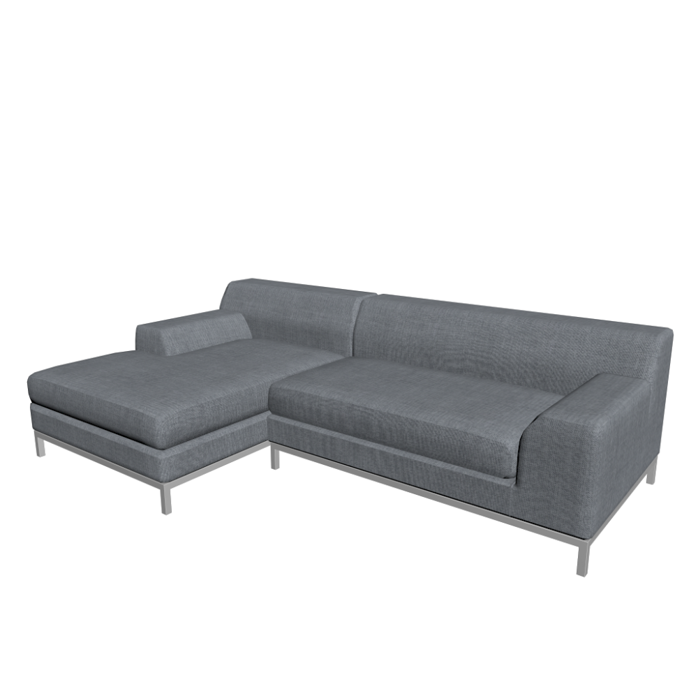 kramfors l form sofa design and decorate your room in 3d. Black Bedroom Furniture Sets. Home Design Ideas