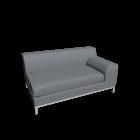 KRAMFORS 2er Sofa rechts für die 3D Raumplanung