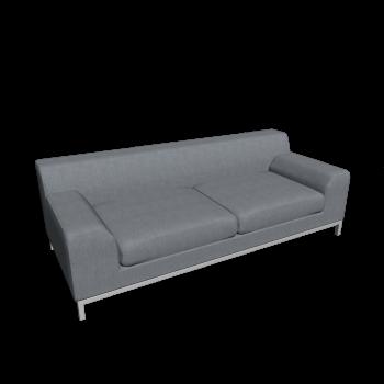 KRAMFORS 3er Sofa von IKEA