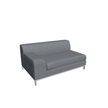 KRAMFORS 2er Sofa links von IKEA
