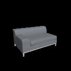 KRAMFORS 2er Sofa links für die 3D Raumplanung