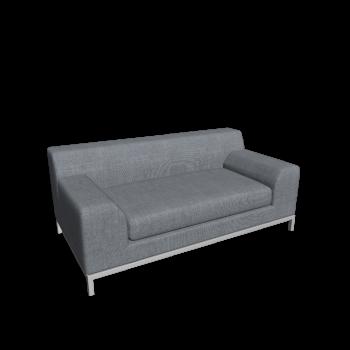 KRAMFORS 2er Sofa von IKEA